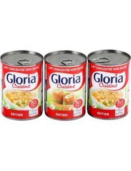 Lait Gloria entier 410g