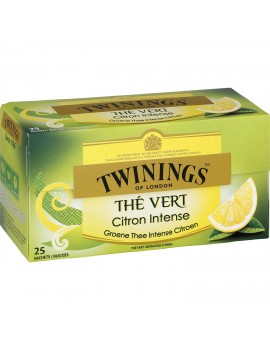 Thé saveur citron TWININGS