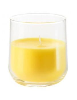 Bougie citronelle jaune
