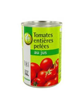 Tomates pelées 800G