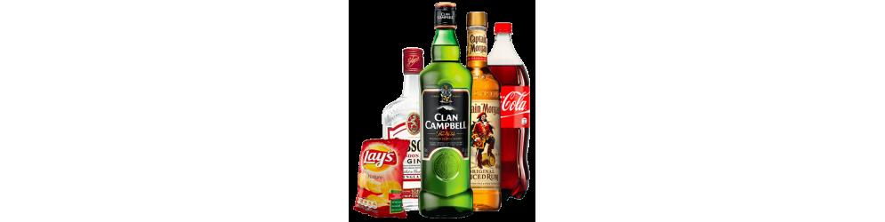 Alcools et Produits apéritifs